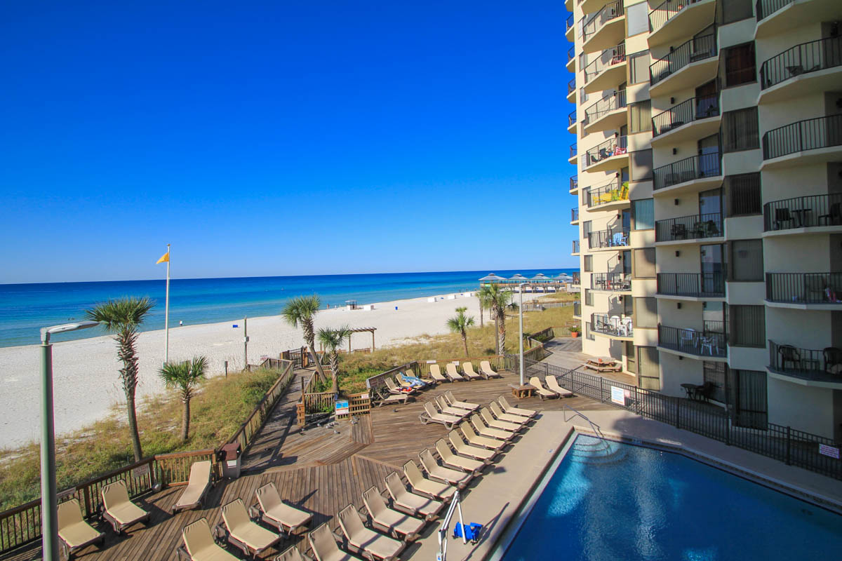 Sunbird Condo Unit 310e Is An Excellent Gulf Front Investment Resort In Panama City Beach